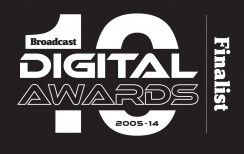 Broadcast Digital Awards Finalist